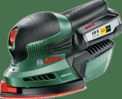 Bosch PSM 18 LI, AKU 18V/2,5AH
