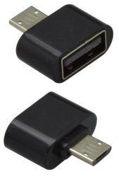 Mobilnet OTG adaptér micro USB / USB čierny