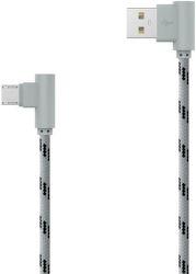 MOBILNET Micro USB kábel 2m, šedý