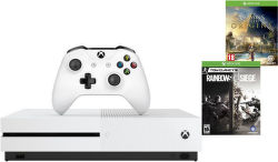 Microsoft Xbox One S 1 TB biely + Assassin's creed: Origins a Tom Clancys Rainbow 6: Siege