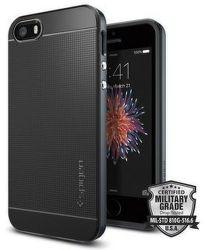 SPIGEN iPhone 5/5S/SE Case Neo Hybrid, sivá