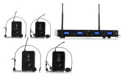 Malone UHF-550 Quartett2 bezdrôtový mikrofónový set