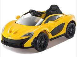 McLaren žlté detské auto
