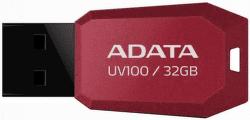 A-DATA UV100 32GB USB 2.0 červený