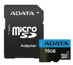 ADATA Premier microSDHC 16GB 85MB/s UHS-I U1 + adaptér
