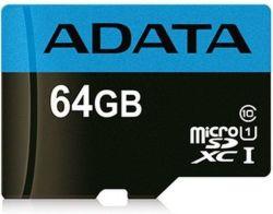 ADATA Premier microSDXC 64GB 85MB/s UHS-I U1