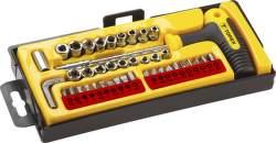 Topex 39D369 koncovky a nástavce 41 ks
