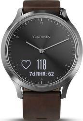 GARMIN Vívomove HR Optic Premium L, strieborná