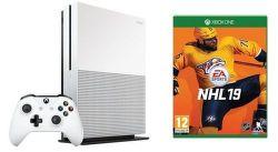 Microsoft Xbox One S 1TB + NHL 19 + darčeková karta do Xbox Store v hodnote 5€