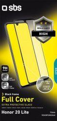 SBS Full Cover tvrdené sklo pre Honor 20 Lite, čierna