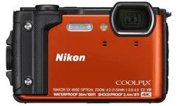 Nikon Coolpix W300 oranžový + plávajúci popruh