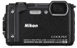 Nikon Coolpix W300 čierny + plávajúci popruh