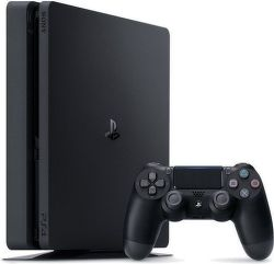 Sony PlayStation 4 Slim 1TB + The Last Of Us + Uncharted 4: A Thief's End + Horizon Zero Down