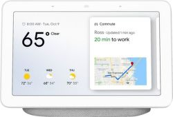 Google Home Hub Chalk biely
