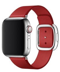 Apple Watch kožený remienok 40/38 mm veľ. M, (PRODUCT)RED