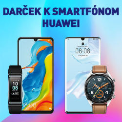 Darček ku smartfónom Huawei