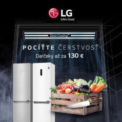 Darček k chladničkám LG