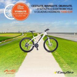 Vyhrajte 6x elektrobicykel za nákup produktov MIO