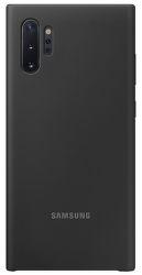 Samsung silikónové puzdro pre Samsung Galaxy Note10+, čierna