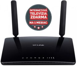 TP-Link Archer MR200, AC750 DualB. 3G/4G LTE - WiFi router