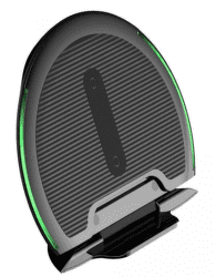 Baseus Foldable bezdrôtová Qi nabíjačka, čierna