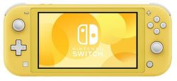 Nintendo Switch Lite žltá