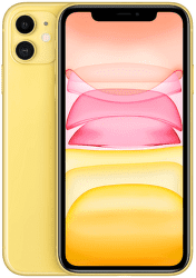 Apple iPhone 11 256 GB Yellow žltý