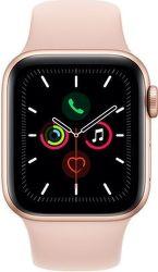 Apple Watch Series 5 40mm zlatý hliník s pieskovo ružovým športovým remienkom