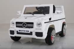SparkTech Mercedes Benz AMG Class G elektrické autíčko biele
