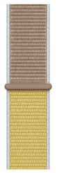 Apple Watch 44 mm športový prevliekací remienok, hnedobéžový