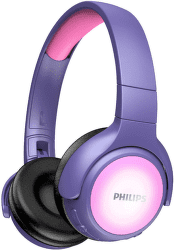 Philips TAKH402 ružovo-fialové detské slúchadlá