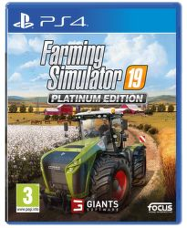 Farming Simulator 19 Platimum Edition PS4 hra