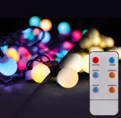 SOLIGHT 1V09-RGB 20 m vianočná LED reťaz