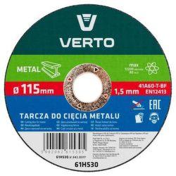 VERTO 61H532 kotúč na kov T41, 125x1,5x22
