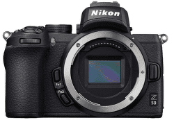 Nikon Z50 telo, čierna