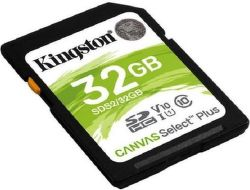 Kingston Canvas Select Plus SDHC 32 GB UHS-I U1