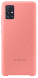 Samsung silikónový kryt pre Samsung Galaxy A51, ružová