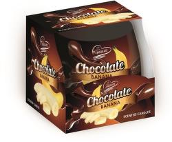 Sweet Home čokoláda-banán vonná sviečka