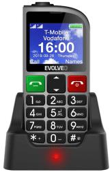 Evolveo EasyPhone FM strieborný