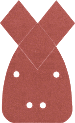 BOSCH G180 brúsny papier 5ks