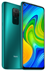 Xiaomi Redmi Note 9 64 GB zelený