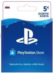 Sony PlayStation Store 5 eur - Digitálny produkt