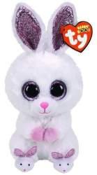 SLIPPERS zajačik s papučami 15 cm