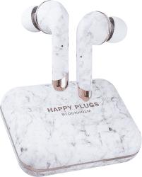 Happy Plugs Air 1 Plus In-Ear biely mramor