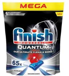 Finish Quantum Ultimate 65 ks tablety do umývačky