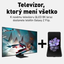 Samsung Galaxy Z Flip ako darček k 8K TV Samsung