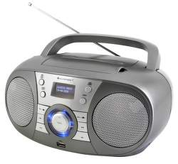 Soundmaster SCD1800TI sivý