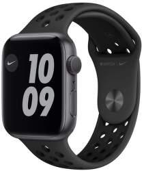 Apple Watch Nike Series 6 44 mm vesmírne sivý hliník s čiernym športovým remienkom