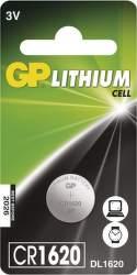 GP CR1620 1ks - lítiová gombíková batéria