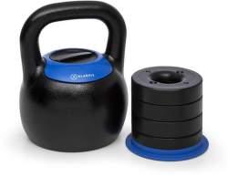 Klarfit Adjustabell kettlebell 16-24 kg